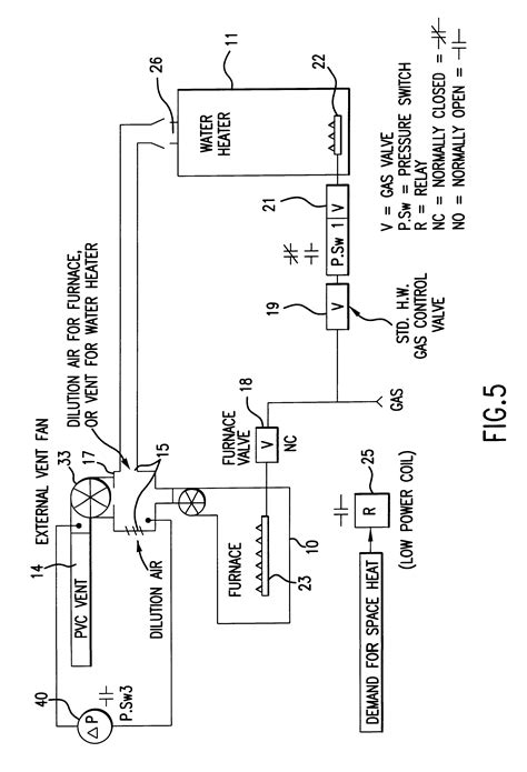 Patent Common Venting Water Heater