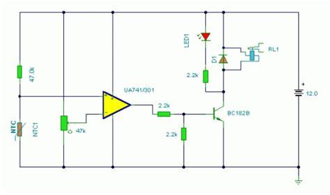 Temperature Monitor Circuit Diagram Instructions