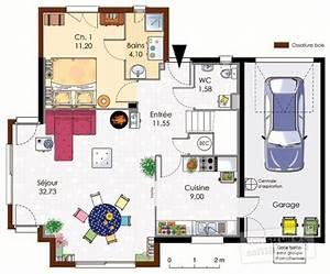 maison bioclimatique 1 detail du plan de maison With plans de maison gratuit 2 maison bretonne detail du plan de maison bretonne