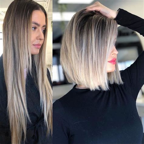10 Amazing Long to Short Haircuts - Before and After ...