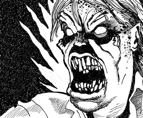 Horror Drawing At Getdrawings.com