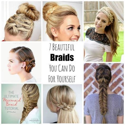 7 beautiful braids you can do for yourself bath and body