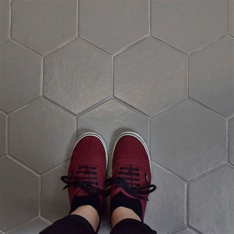 somertile   hextile gris porcelain floor  wall