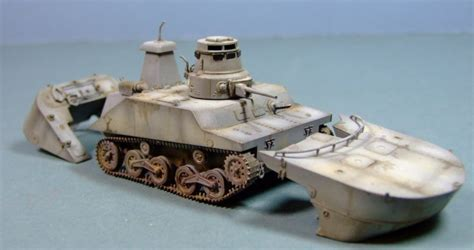 hibious tank ijn type 2 ka mi amphibious tank 1 35