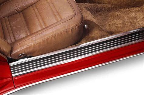 C3 Corvette Floor Mats by C3 Corvette 1968 1982 Door Sill Guards Pair Corvette Mods