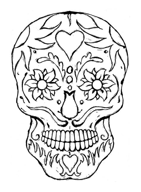 skeleton head coloring pages  getcoloringscom  printable colorings pages  print  color