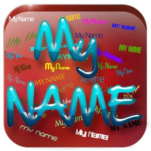 what is my phone s name my name live wallpaper android apps on play