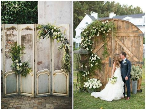 Vintage Doors As Wedding Decor Quirky Parties