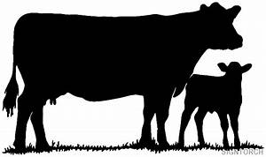 Animal Cow And Calf Readytocut Vector Art For Cnc