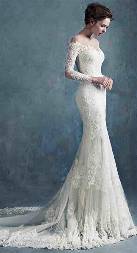 Best 25 Lace Mermaid Wedding Dress Ideas On Pinterest