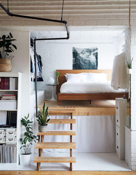 Small Bedroom Solution: The Half Loft
