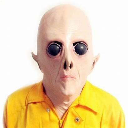 Alien Mask Realistic Costume Face Latex Silicone