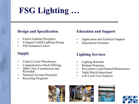 Fsg Lighting by Fsg Presentation