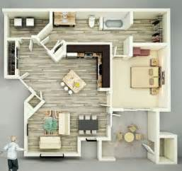 Top Photos Ideas For Single Bedroom House Plans by 25 One Bedroom House Apartment Plans