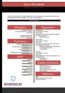 free resume templates for word 2016 word resume templates 2016