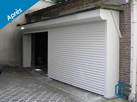 fabricant porte de garage enroulable sur mesure