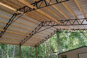 armour metals pole barns metal roofing and pole barns With 40 ft trusses for sale