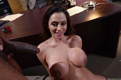 Interracial Office Sex With Latina Milf Ariella Ferrera