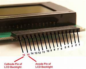 How To Turn On The Backlights Of A Hd44780 Lcd