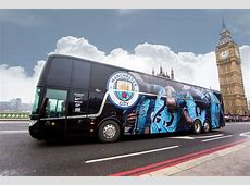 Manchester City unveil new look team bus – City Watch