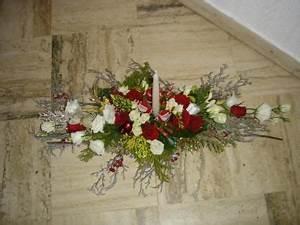 Art Floral Centre De Table Noel : cr ation centre de table rouge et blanc pour noel cr ation art floral de mait na n 51 025 vue ~ Melissatoandfro.com Idées de Décoration