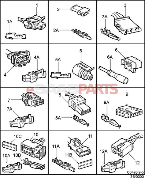 93+ Automotive Electrical Connector Types
