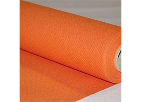 chemin de table orange chemin de table intiss 233 orange 40cmx25m d 233 coration de table