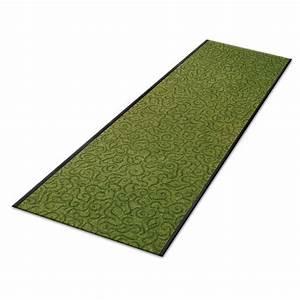 paillasson a la coupe tapis daccueil d39entree et de With tapis couloir avec canapé au sol modulable