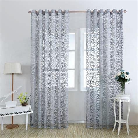 rideaux pour fenetre de chambre rideaux de fenêtre de porte fleuri panneaux de rideaux