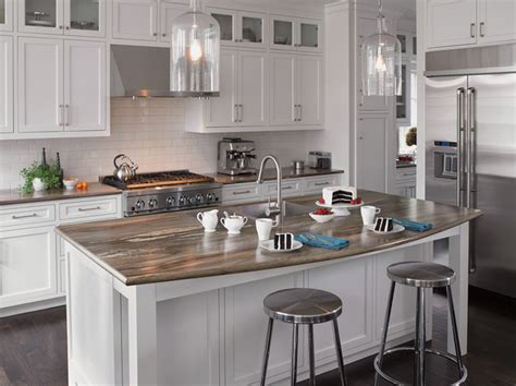 Granite Countertops Island New York by Seifer Countertop Ideas Transitional New York By
