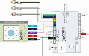 Wiring The Rotary Encoder With Arduino