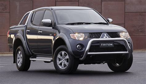 triton mitsubishi 2006 mitsubishi ml triton glx r review loaded 4x4