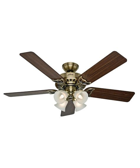hunter fan ceiling fan light kit hunter fan 53063 studio series 52 inch ceiling fan with