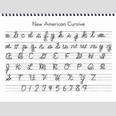 New American Cursive  It Is, Curriculum And Culture