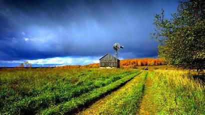Rural Scene Wallpapers Farm Landscape Autumn Field