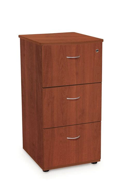 OFM Milano Series 3 Drawer File Cabinet with Lock   FREE