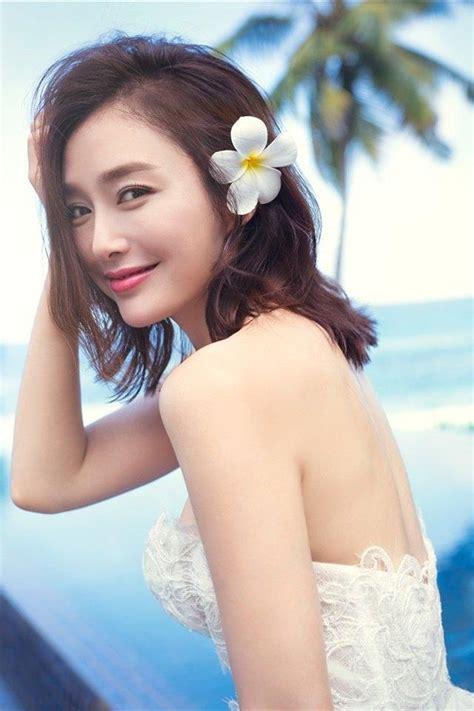 美女明星秦岚甜美婚纱写真_明星手机壁纸-壁纸族