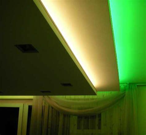 glowing ceiling designs  hidden led lighting