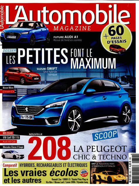 l automobile magazine l automobile magazine n 176 852 abonnement l automobile magazine abonnement magazine par