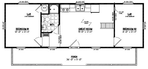 14x40 Shed Floor Plans by 14x40 Cabin Floor Plans Quotes