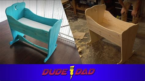 diy simple baby bassinet dude dad youtube