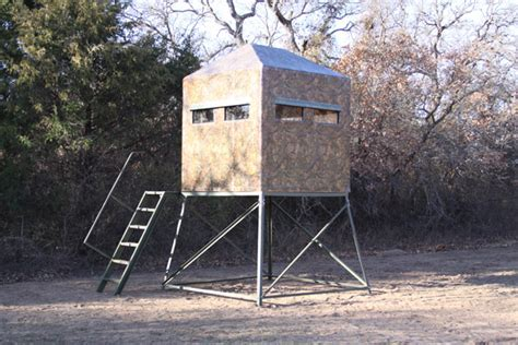 bow hunting box blind plans - Shadow Hunter Series 5'x5' Octagon