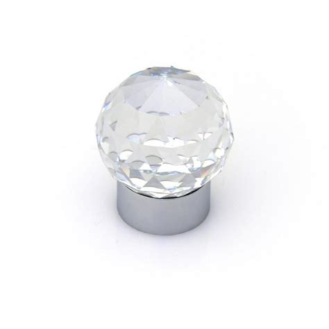 round chrome cabinet knobs topex swarovski crystal collection chrome round cabinet