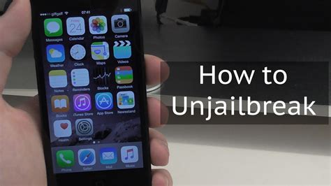how to unjailbreak iphone without computer how to unjailbreak an iphone ipod or restore