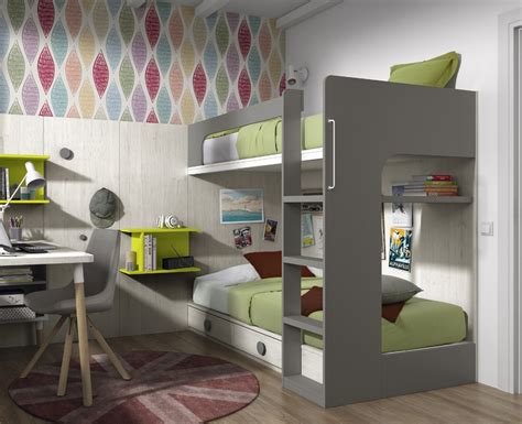 lit et bureau ado chambre ado lit superposé et bureau meubles sur mesure