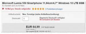 gebrauchte handys ohne vertrag lumia 550 ohne vertrag f 252 r 70 b ware