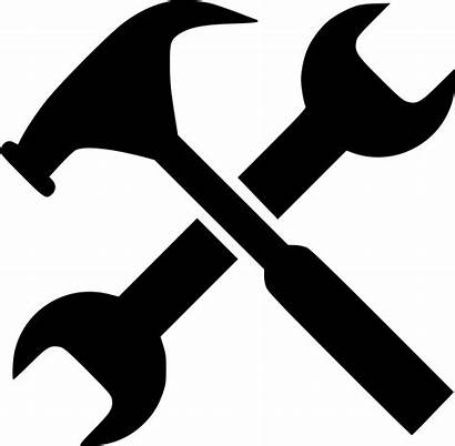Svg Tools Icon Wrench Tool Hammer Gear
