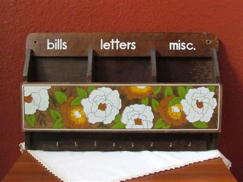 33 Best Images About Bill & Mail Holders On Pinterest
