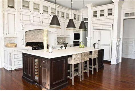 kitchen cabinets with different color island i 39 ve never been to big on the different color island in