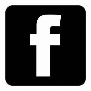 Black Facebook Icon Clipart - Clipart Suggest